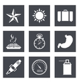 Icons for Web Design set 29 vector image