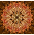 Ornamental mandala background with many details vector image