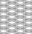 Perforated squashed hexagons in grid vector image