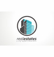 real estates logo estates renting icon renting vector image