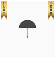 Umbrella icon - vector image