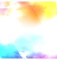 water color cloud vector image vector image
