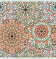 seamless pattern in oriental style colored vector image
