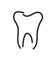Logo for dentist vector image