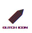 pencil icon flat vector image vector image