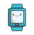 smartwatch device isolated icon vector image vector image