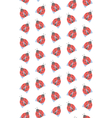 spring seamless pattern with ladybugs isolated vector image vector image