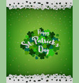 stpatricks day backgrounddesign element with vector image