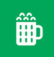 beer simple icon vector image