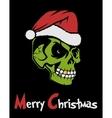 Zombie Santa Claus vector image
