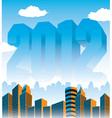 2012 Cityscape vector image