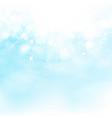 blue sky of sun burst decoration summer vector image vector image