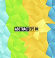 Colour retro pattern of geometric shapes vector image