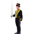 english guard vector image vector image