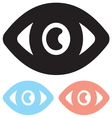 Eye icon1 vector image