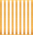 gold vertical stripes on white background vector image