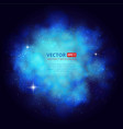 nebula abstract background with place for text vector image vector image