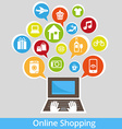 OnlineShopping vector image