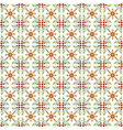 seamless floral islamic pattern vector image vector image