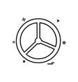 steering car van icon design vector image