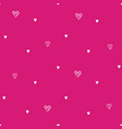 valentines hand drawn cupcakes pattern-21 vector image vector image