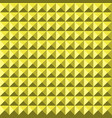 yellow background abstract pyramidas texture vector image vector image