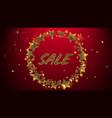 the elegant banner of sale vector image
