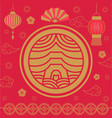2019 chinese new year holiday celebration asia vector image