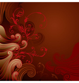 6floral line 28 1 vector image vector image