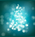 Blue christmas background with lights abstract