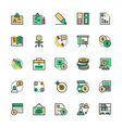 Business and Office Icons 2 vector image vector image