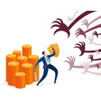 business protection vector image vector image