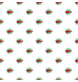 comic boom oh pattern seamless vector image vector image