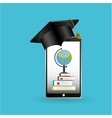 eduation online concept achiviement learning vector image vector image