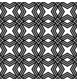 seamless pattern background with geometric symbol vector image