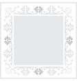 vintage frames version grayscale vector image vector image