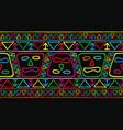 american tribal national drawing vector image vector image