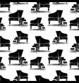 pattern a grand piano sketch vector image