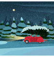 Preparing for the holiday on Christmas Eve vector image vector image
