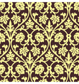 Retro wallpaper seamless vector image vector image
