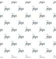 saxophone pattern seamless vector image