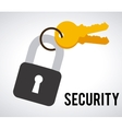 security design vector image