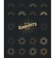 Sunburst Set vector image