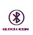 bluetooth icon flat vector image vector image