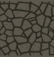 cartoon gray stone seamless background texture vector image vector image