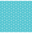 cube dot pattern background vector image vector image