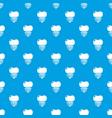 dental implant pattern seamless blue vector image vector image
