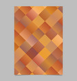 modern geometrical colorful diagonal square vector image vector image