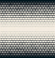 2d modern triangle grid seamless geometric pattern vector image vector image