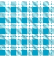 Blue and white tablecloth seamless pattern vector image vector image